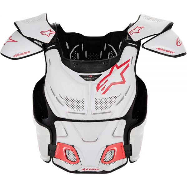 Protectii Piept-Spate Alpinestars Protectie Piept A-8 Roost Deflector White
