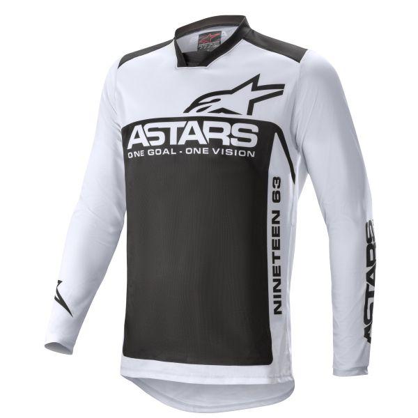 Tricouri MX-Enduro Alpinestars Racer Supermatic MX Jersey Grey/Black 2021