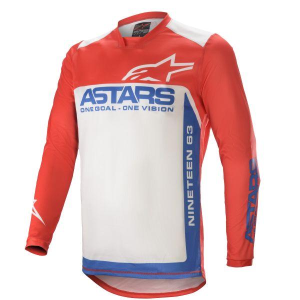 Tricouri MX-Enduro Alpinestars Racer Supermatic MX Jersey  Multicolor/Red 2021