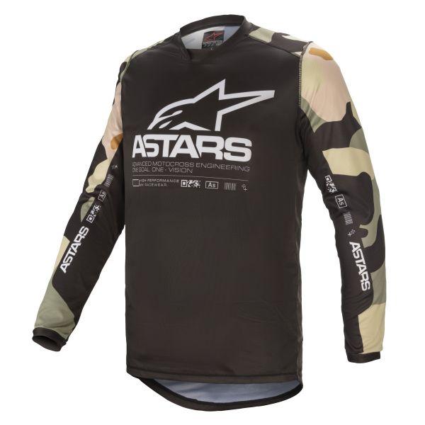 Tricouri MX-Enduro Alpinestars Racer Tactical MX Jersey Desert/Camo 2021