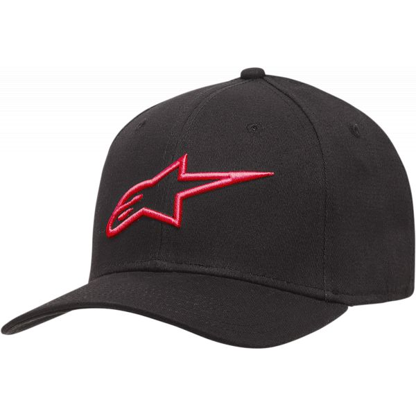 Sepci Alpinestars Sapca Agels Cv Black/Red 2021