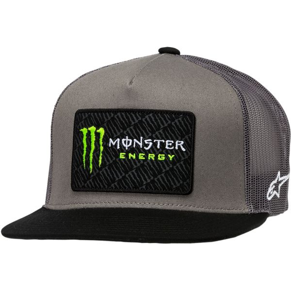 Sepci Alpinestars Sapca Monsterchamp Trucker Gray/Black S20