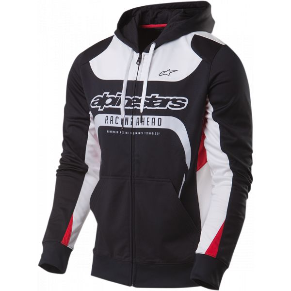 Geci/Hanorace Casual Alpinestars Session Zip Up Jacheta Fleece Black