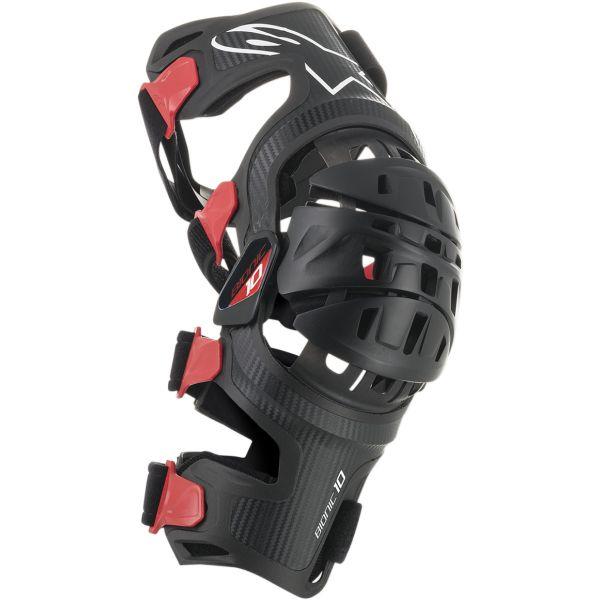 Genunchiere si Orteze Alpinestars Set Orteze Bionic 10 Barbon Black/Red 2020