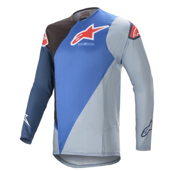 Tricouri MX-Enduro Alpinestars Supertech Blaze MX Jersey Blue/Black 2021