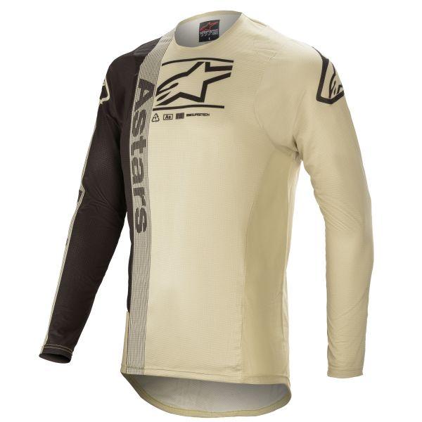 Tricouri MX-Enduro Alpinestars Supertech Foster MX Jersey Sand/Black 2021