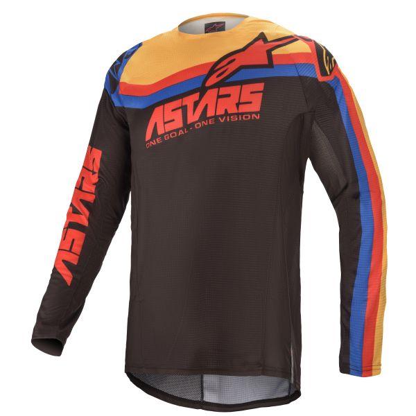 Tricouri MX-Enduro Alpinestars Techstar Venom MX Jersey Multicolor/Black 2021