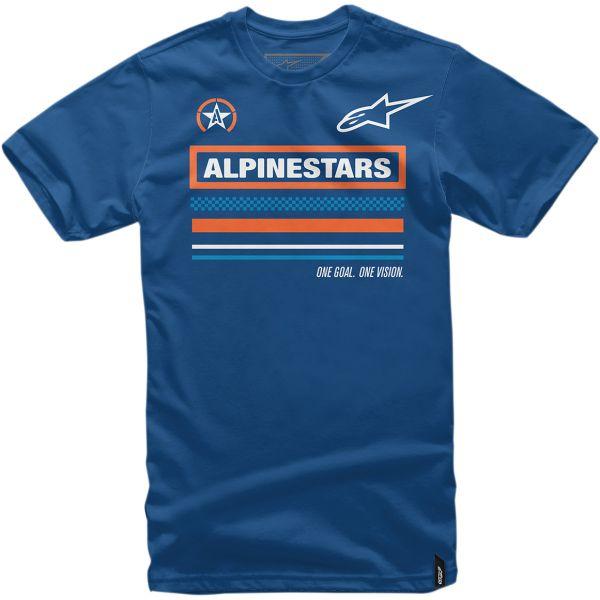Imbracaminte Copii Alpinestars Tricou Copii Multi S20 Blue