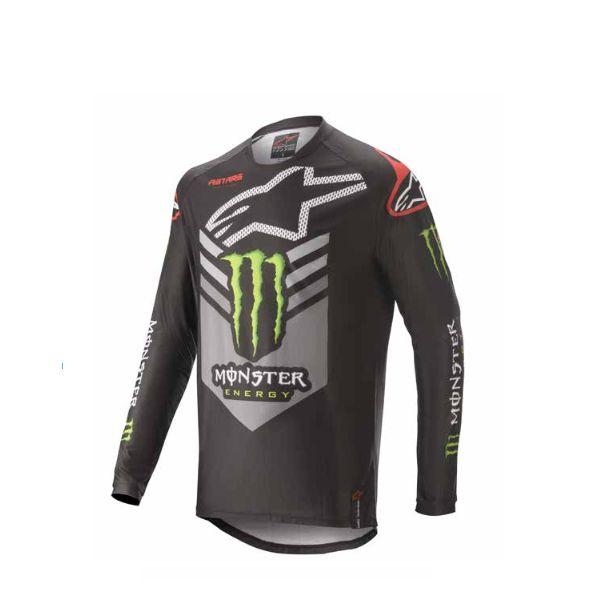 Tricouri MX-Enduro Alpinestars Monster Ammo MX Jersey S20 Multicolor/Black