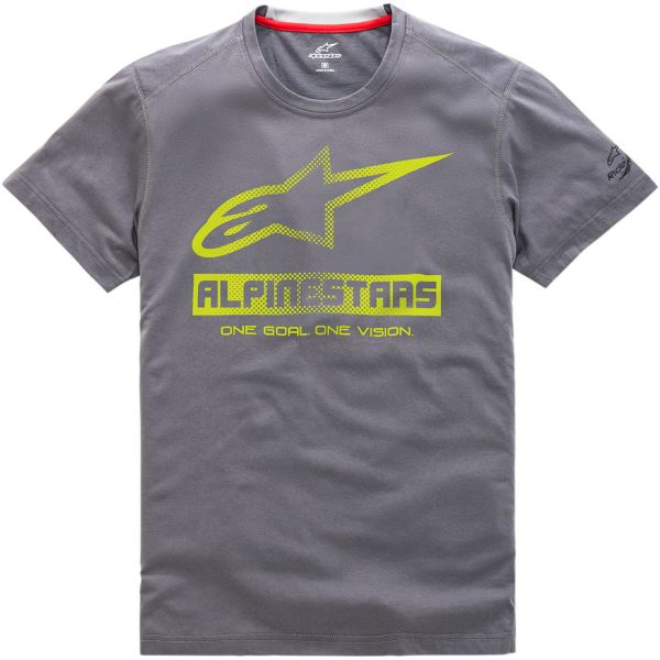 Tricouri/Camasi Casual Alpinestars Tricou Ride Dry Source S20 Charcoal