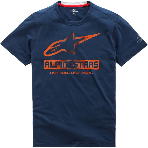 Tricouri/Camasi Casual Alpinestars Tricou Ride Dry Source S20 Navy