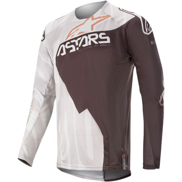 Tricouri MX-Enduro Alpinestars Tricou Techstar Factory Metal S20 Gray/Black