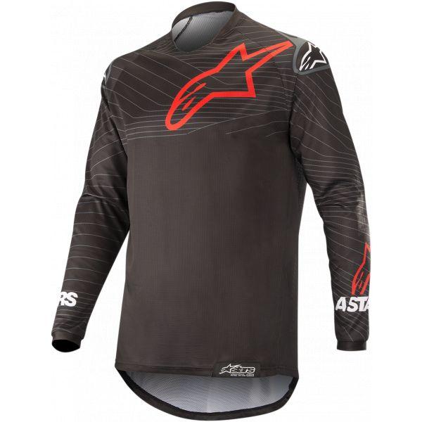 Tricouri MX-Enduro Alpinestars Venture R Offroad Jersey Black/Red 2021