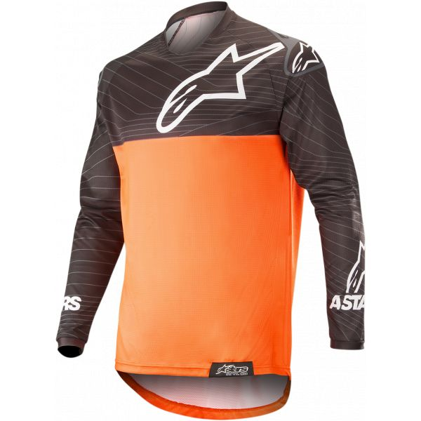 Tricouri MX-Enduro Alpinestars Venture R Offroad Jersey Orange/Black 2021