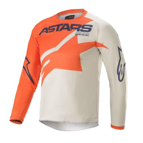 Tricouri MX-Enduro Copii Alpinestars Youth Racer Braap MX Jersey Multicolor/Orange 2021