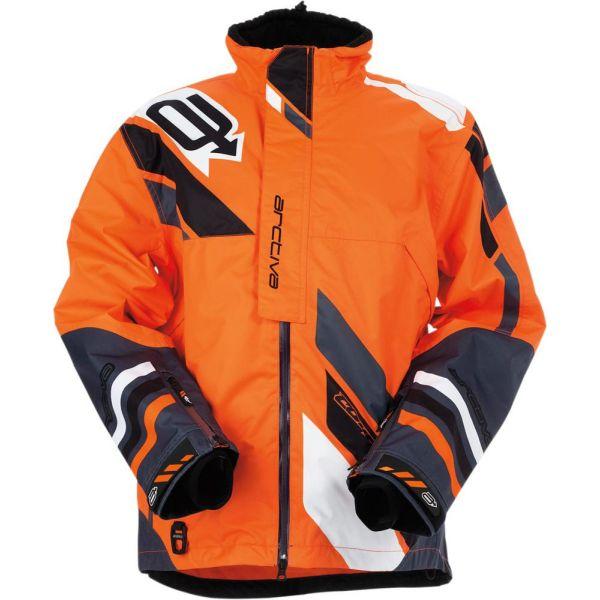 Geci Snowmobil Arctiva Geaca Snow Comp RR Textile Orange