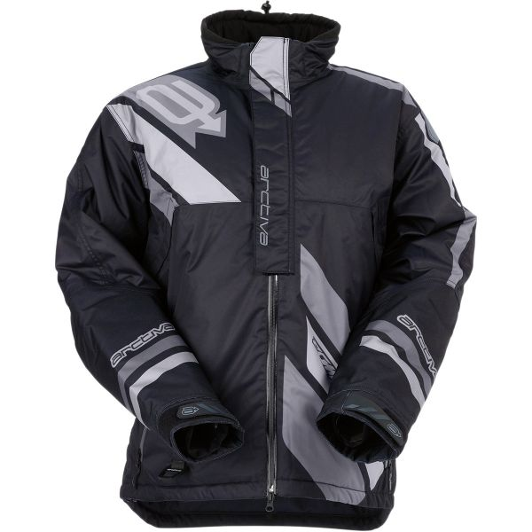 Geci Snowmobil Arctiva Geaca Snow Comp S7 Insulated Black/Gray