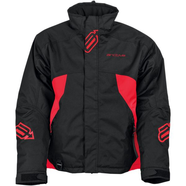 Geci Snowmobil Arctiva Geaca Snow Insulated Pivot S8 Black/Red