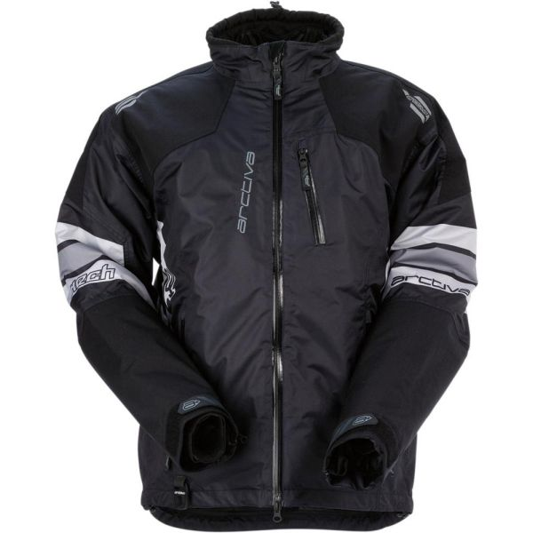 Geci Snowmobil Arctiva Geaca Snow Insulated Mech S7 Textile Negru/Gri/Hi-Vis