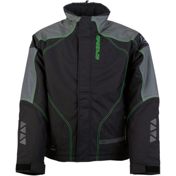 Geci Snowmobil Arctiva Geaca Snow Pivot2 Black/Green 2020