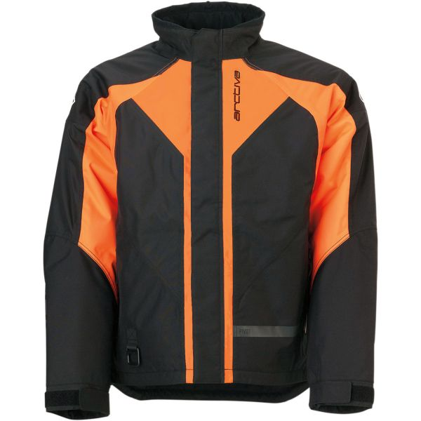 Geci Snowmobil Arctiva Geaca Snow Pivot3 Black/Orange 2020