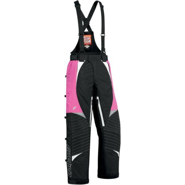 Pantaloni Snow Arctiva LICHIDARE STOC Pantaloni Snow Bibs Insulated  Comp 7 Black/Pink Dama