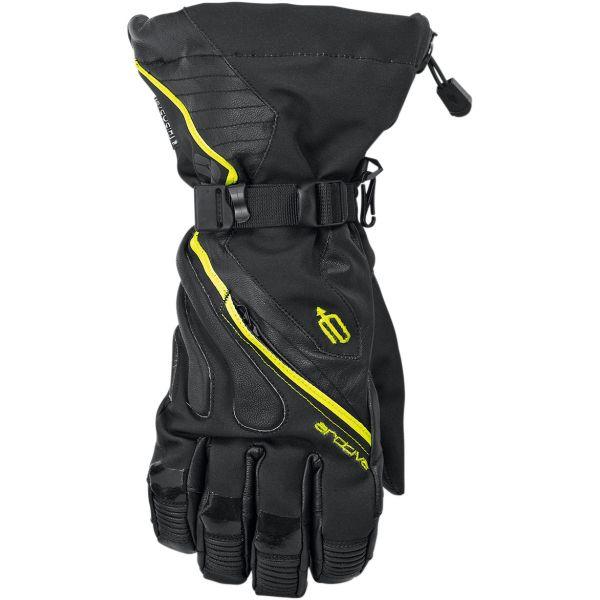 Manusi Snowmobil Arctiva Manusi Meridian S8 Wp Long Gloves Black/Hi-Viz Yellow