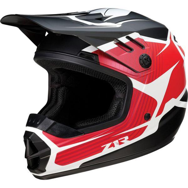 Casti MX-Enduro Copii Z1R Casca Moto MX Copii Rise Flame Red 2022