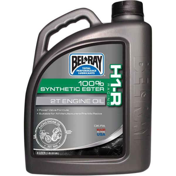Ulei motor 2 timpi Bel Ray Ulei de motor H1-R RACING 100% SYNTHETIC ESTER 2T  4 l