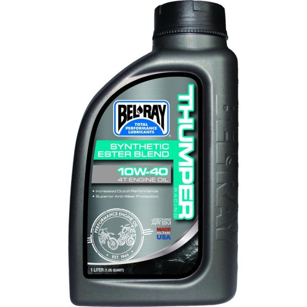 Ulei motor 4 timpi Bel Ray Ulei de motor THUMPER RACING SYNTHETIC ESTER BLEND 4T 10W-40  1 l