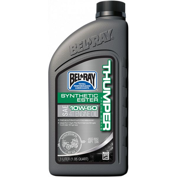 Ulei motor 4 timpi Bel Ray Ulei Motor Works Thumper Racing Synthetic Ester 4T 10w60, 1L 99551-B1LW