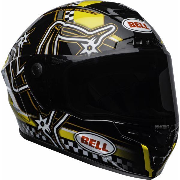 Casti Moto Integrale Bell Casca integrala  STAR DLX MIPS ISLE OF MAN NEGRU GLABEN