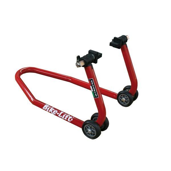 Stander On Road Bikelift STANDER FATA INALT CU PADELE - ROSU (PENTRU FRANE RADIALE)