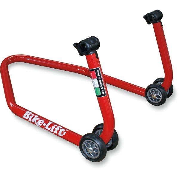 Stander On Road Bikelift Stander Spate cu Furci Si Pedale Demontabil Red RS-17