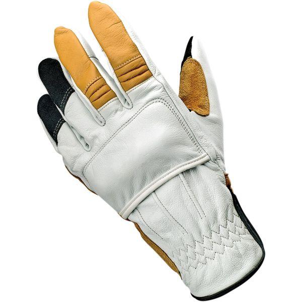 Manusi Moto Sport si Piele Biltwell Manusi Piele Glove Belden Cement
