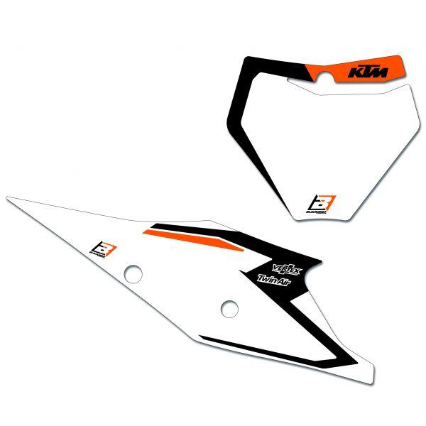 Grafice Moto Blackbird Kit Grafica Baza Numere Concurs Ktm 19- 6509n