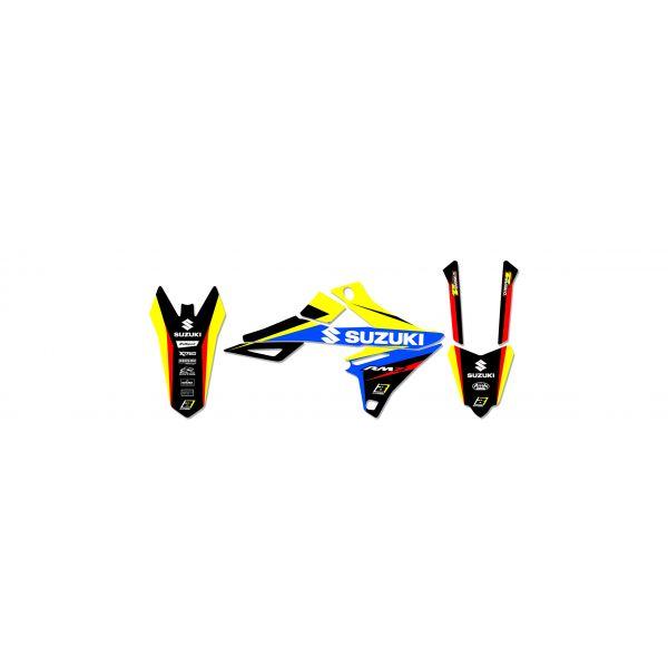 Grafice Moto Blackbird Kit Grafica Dream 4 Suzuki RMZ450 08-17 2316n