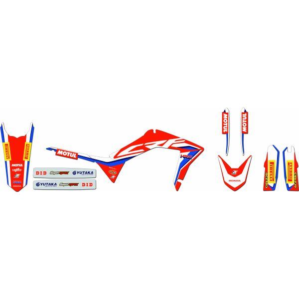 Grafice Moto Blackbird Kit Grafica Replica 2136r18 Honda CR R 02-07'
