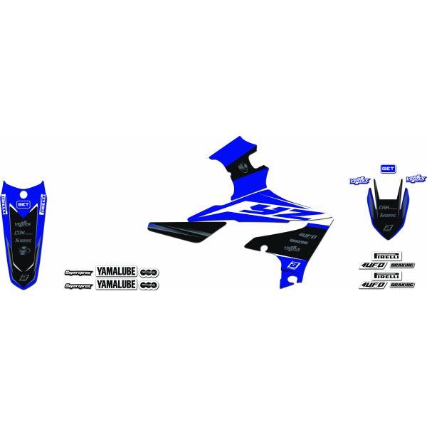 Grafice Moto Blackbird Kit Grafica Replica 2243r9 Yamaha YZ F 14-18'