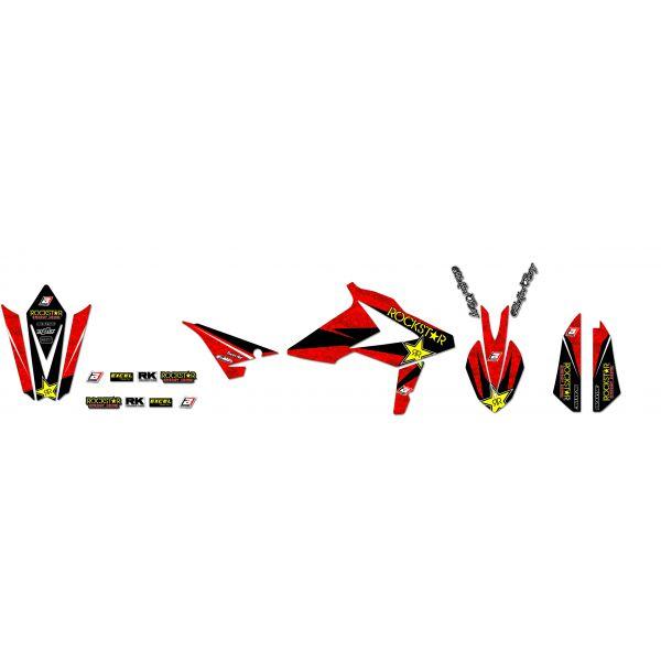 Grafice Moto Blackbird Kit Grafica Rockstar Beta RR 50 2b05l