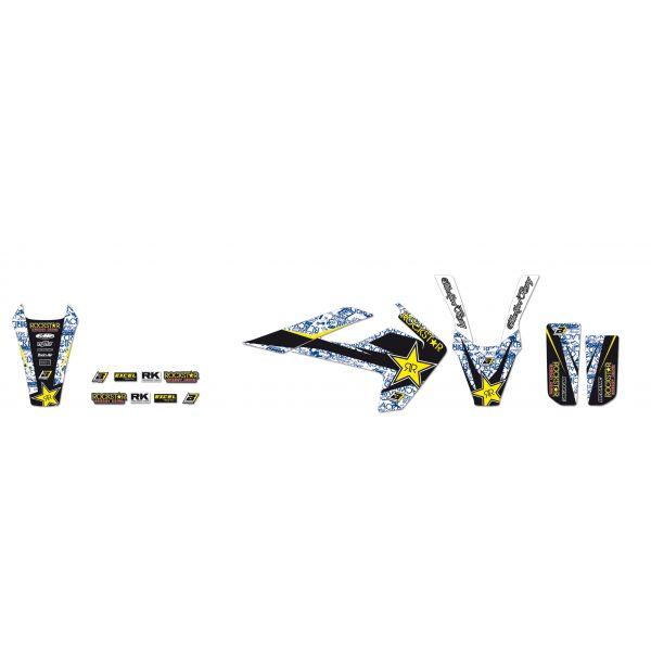 Grafice Moto Blackbird Kit Grafica Rockstar Energy Black/white/blue/yellow 2612l