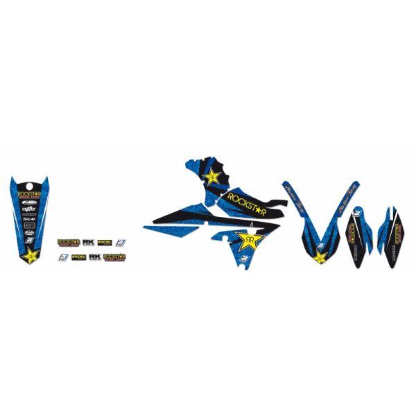 Grafice Moto Blackbird Kit Grafica Rockstar Energy Blue/black/yellow 2228l