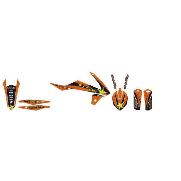 Grafice Moto Blackbird Kit Grafica Rockstar Energy Orange/black/yellow 2517l