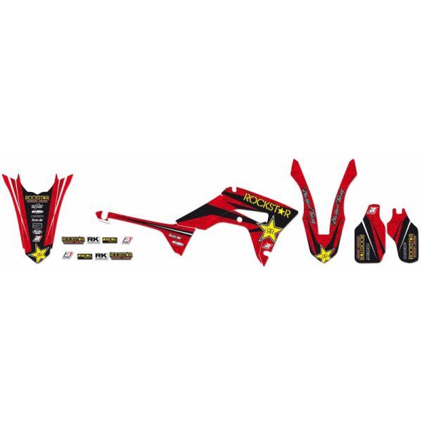 Grafice Moto Blackbird Kit Grafica Rockstar Energy Red/black/yellow 2140l