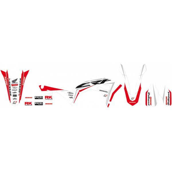 Grafice Moto Blackbird Kit Grafica Super Honda CRF 2146