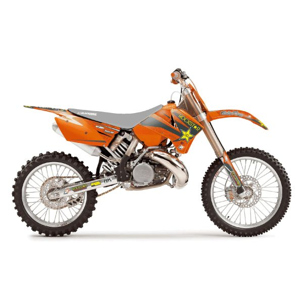 Graphics Blackbird ROCKSTAR ENERGY GRAPHIC KIT ORANGE/BLACK/YELLOW 2526L