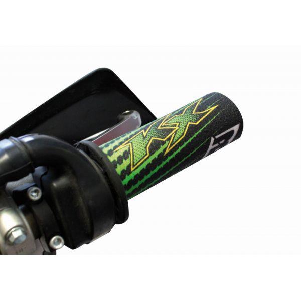 Mansoane Enduro-MX Blackbird Invelitoare Mansoane Grip Covers Replica Kawasaki 19 5016r/411