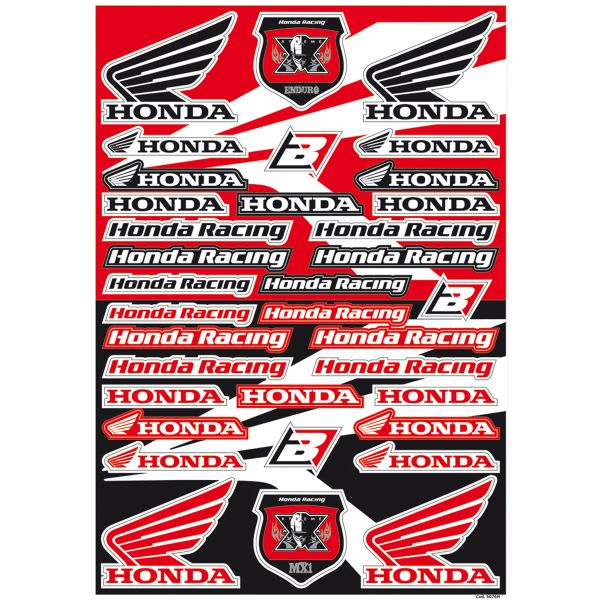 Graphics Blackbird Sticker Decal Logo Honda