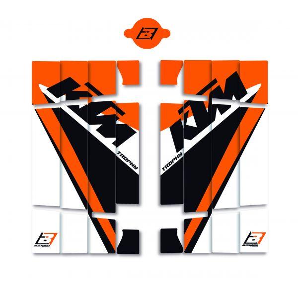 Grafice Moto Blackbird Sticker Grile Radiatoare Ktm Trophy 19 A501r17