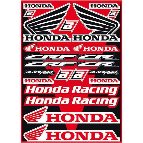Graphics Blackbird Sticker Kit Universal Honda